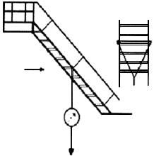 Испытание маршевой пожарной лестницы