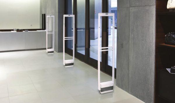 Акустомагнитные ворота в магазин