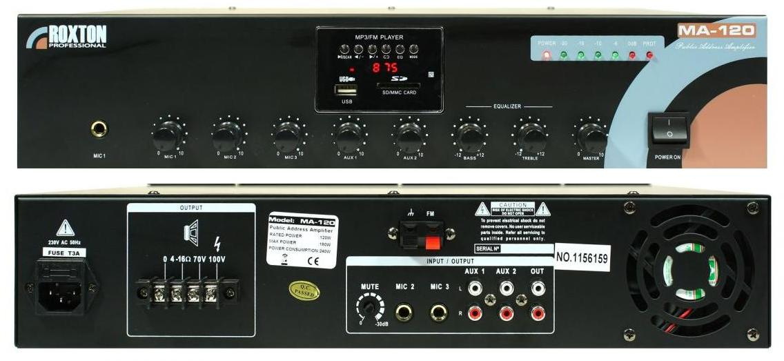 Микшер-усилитель Roxton MA-120